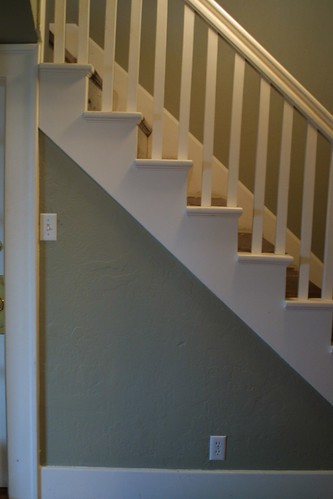 Stairway/Hallway after paint