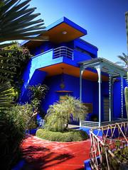 Maison Yves Saint Laurent (levercusec) Tags: vacances morocco maroc marrakech hdr 3xp photomatix fx01 levercusec anawesomeshot hdrenfrancais maisonyvessaintlaurent