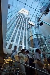 Fifth Avenue Apple Store | New York City (ldandersen) Tags: nyc newyorkcity newyork glass applestore cube fifthavenue spiralstairway