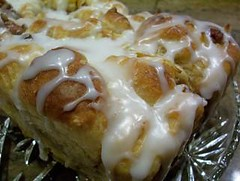 Cinnamon Apple Pecan Bumpy Bread