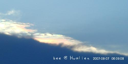 花蓮石梯坪海邊的日出---颱風來前的寧靜 (2)