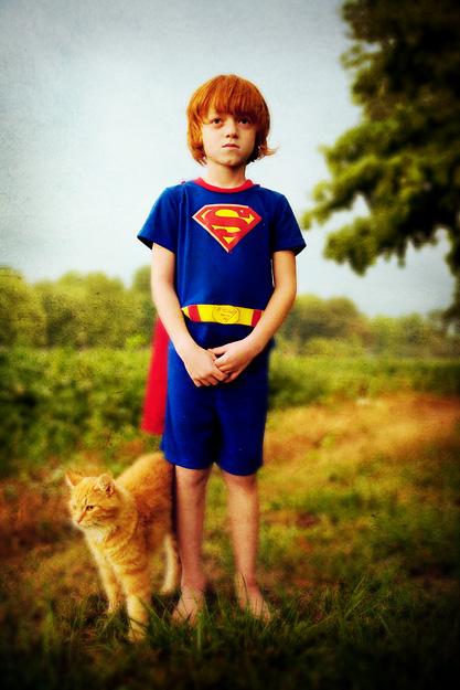 superman and his trusty sidekick
