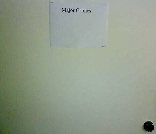work, The MAJOR CRIMES division