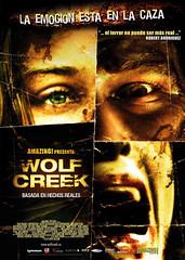 Póster y trailer en castellano de 'Wolf Creek', otra de terror con excursionistas