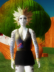 OpenSim: Classic hairdo (and texture bug)