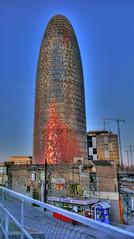 Torre Agbar (ivomaxwell) Tags: barcelona torre agbar