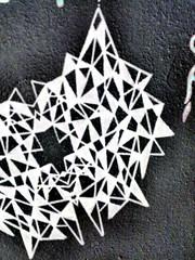 The Wall at Home (Philip Schade) Tags: camera white black holland colour green art netherlands amsterdam mobile wall spiral photography graffiti design photo triangle groen foto fotografie phone graphic kunst nederland negative marker shape zwart wit philip spiraal telefoon mobiel muur vorm stift patern kleur patroon schade negatief grafiek driehoek philipschadephotography