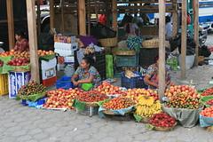 Waiting for Buyers (Ricardo Carreon) Tags: fruits vegetables women market guatemala antigua mercado selling mercadomunicipales