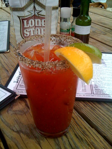 """Beaver Mary with wasabi and """"ex-wife hot sauce"""" - still hot after all these years"""