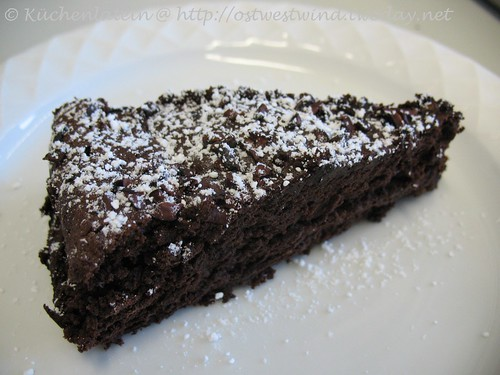 Racines mehlfreier Schokoladenkuchen 002