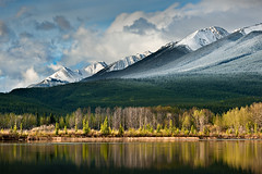 Partly Cloudy (Luke Austin) Tags: canada mountains rockies nationlpark alberta banff gmt 200mm nikond3x 70200mm28vrii