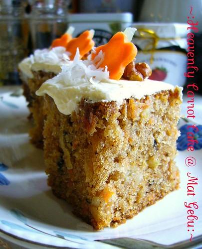 Cake Carrot Resepi