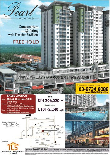 Pearl Avenue Freehold Condominium for sale in Kajang