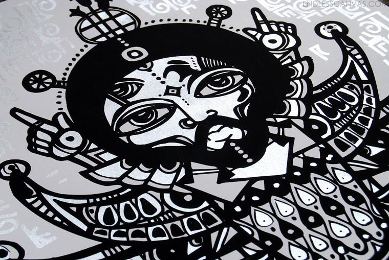RAS TERMS street Art.