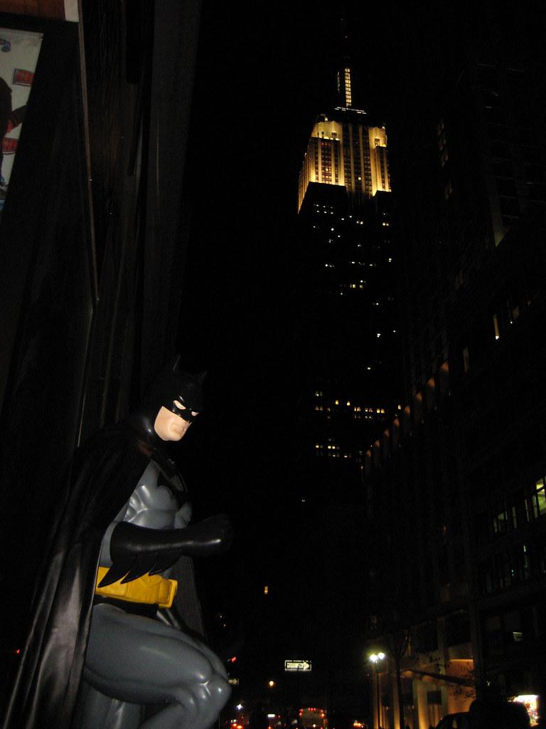 Dark Knight Batman Outside Costume Shop 6452