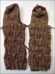 Mochaberry Bramble Socks, as of 10/20
