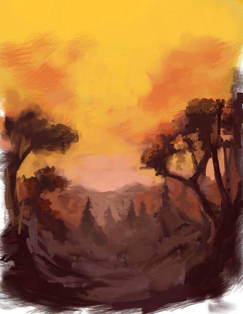 landscape_speedpaint