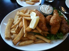 Fish and Chips at the Cliff House