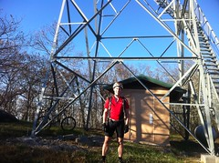 Me at Grassy Mountain Fire Tower