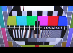 Digital TV Test Pattern