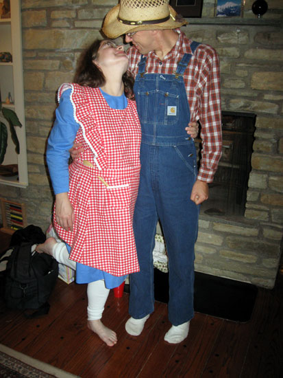 Farmer and Wife