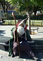 The Wizard of Washington Square.