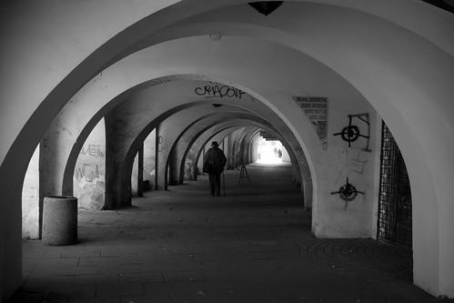 Cracovia, i portici