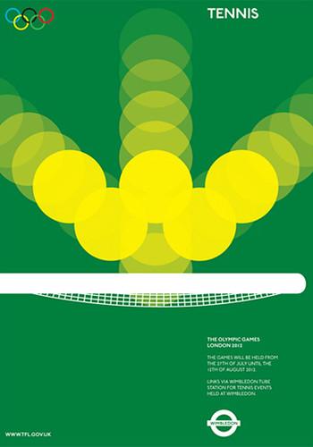 Alan Clarke's Olympic Tube Poster mock ups