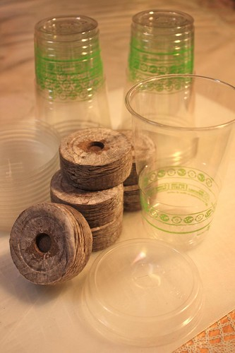 Super Peat Pellets & NatureWorks PLA Cups