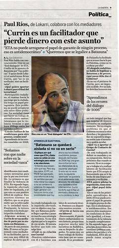 Entrevista La Gaceta