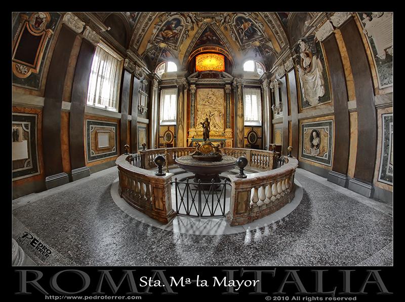 Roma - Santa María la Mayor - Baptisterio