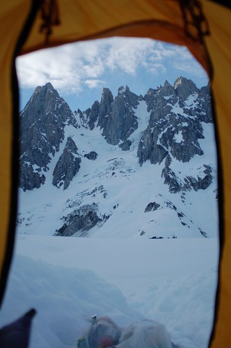 Mt Tiedemann & Asperity from the tent