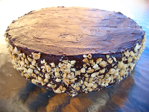 Chocolate-Peanut Butter Cake