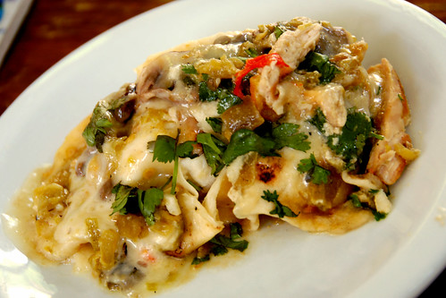 green chile chicken enchilada recipe