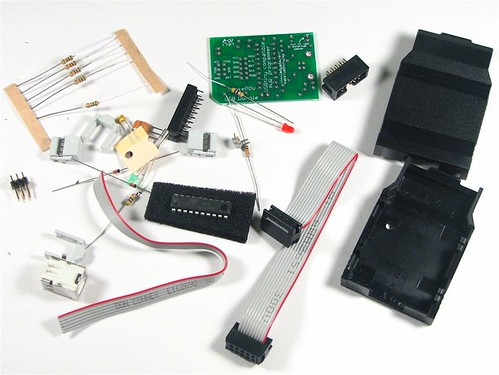 USBtinyISP Kit Contents