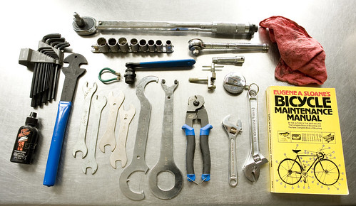 bre pettis님이 촬영한 Dave's Bike Tools.