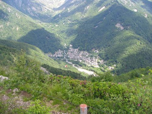 Vista su Piedicavallo