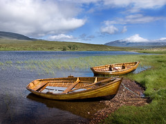 Fishing Boats on Loch Awe (Vaughan Williams (jvwpc)) Tags: scotland highlands loch awe