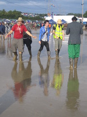 Reflection (MrGiles) Tags: boys festival mud boots glastonbury wellies ixus40 pilton worthyfarm glastonbury2007 glastonburyfestival2007