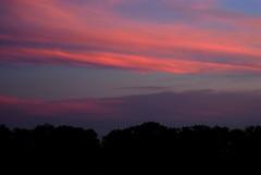 Vivid Sunset (samfeinstein) Tags: sunset nikon saturation d200 levels isthisart 70300 bridgeton