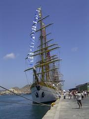 N.S.Mircea (DeFerrol) Tags: port puerto barco ship alicante tallship velero tallshipraces abigfave flickrdiamond