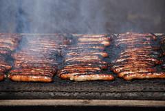 Breakfast Sausage (mistert2) Tags: wisconsin breakfast smoke sausage meat utata grilling 2007 d80 utata:project=uppp3 mistert2 nikon utata:title=meatingourneeds utata:caption=breakfastsausage
