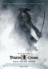 Poster Piratas del Caribe En el fin del mundo