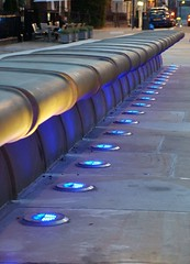 Illuminated Bench (Michael Whelan) Tags: liverpool fuji cathedral explore hopestreet capitalofculture liverpool08