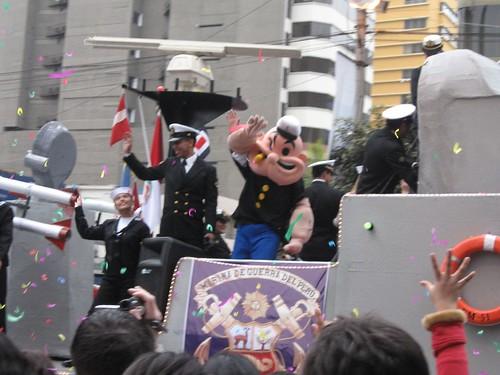 La marina de Popeye!