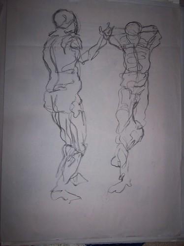 Amoeba sketching
