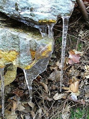 Icy stone