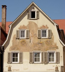 exterior of house (nehDM) Tags: badmergentheim lpwindows