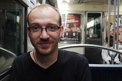 Joe on the Metro