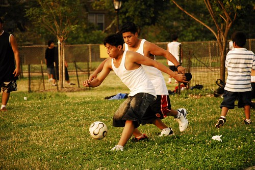 A Futbol Game in Sunset Park 2